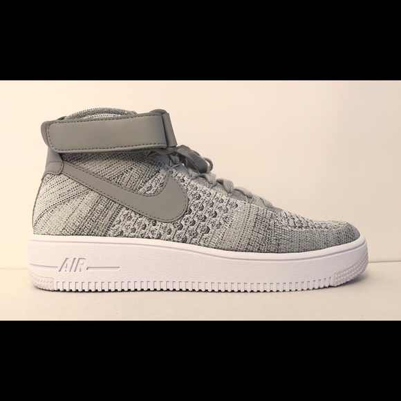 best sneakers e33c4 4a87e NIKE AIR FORCE 1 ULTRA FLYKNIT MID Sz 7 817420-003